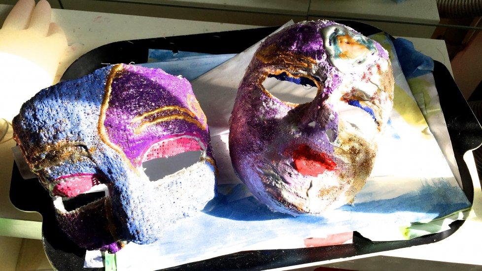 Masker og modellervoks